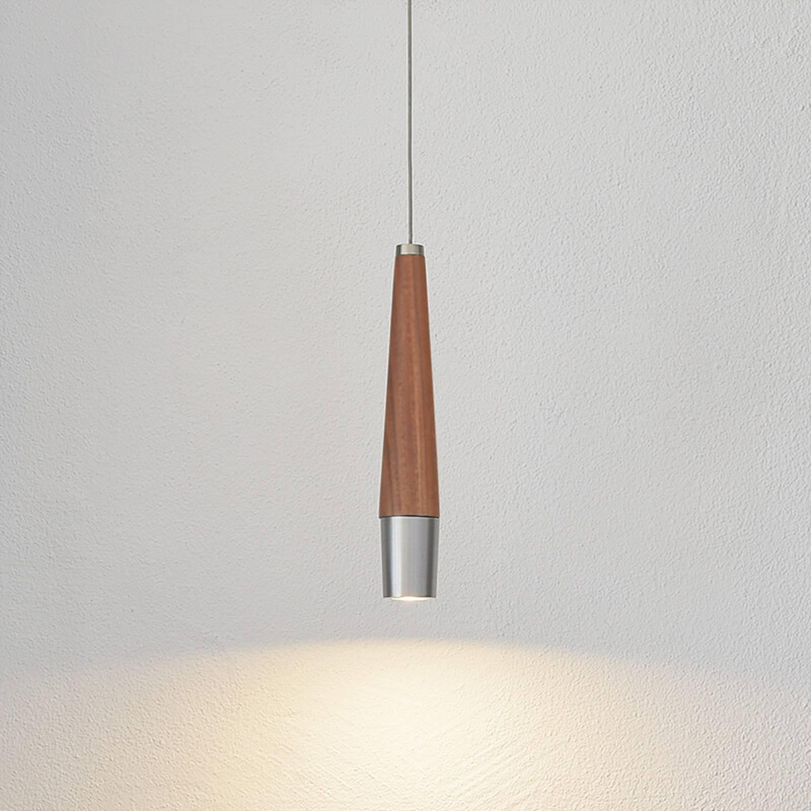 HerzBlut Conico -LED-riippuvalaisin, 1-lamppuinen