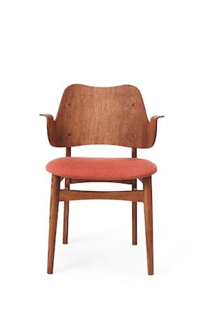 Gesture Chair S Teak Peachy pink Canvas