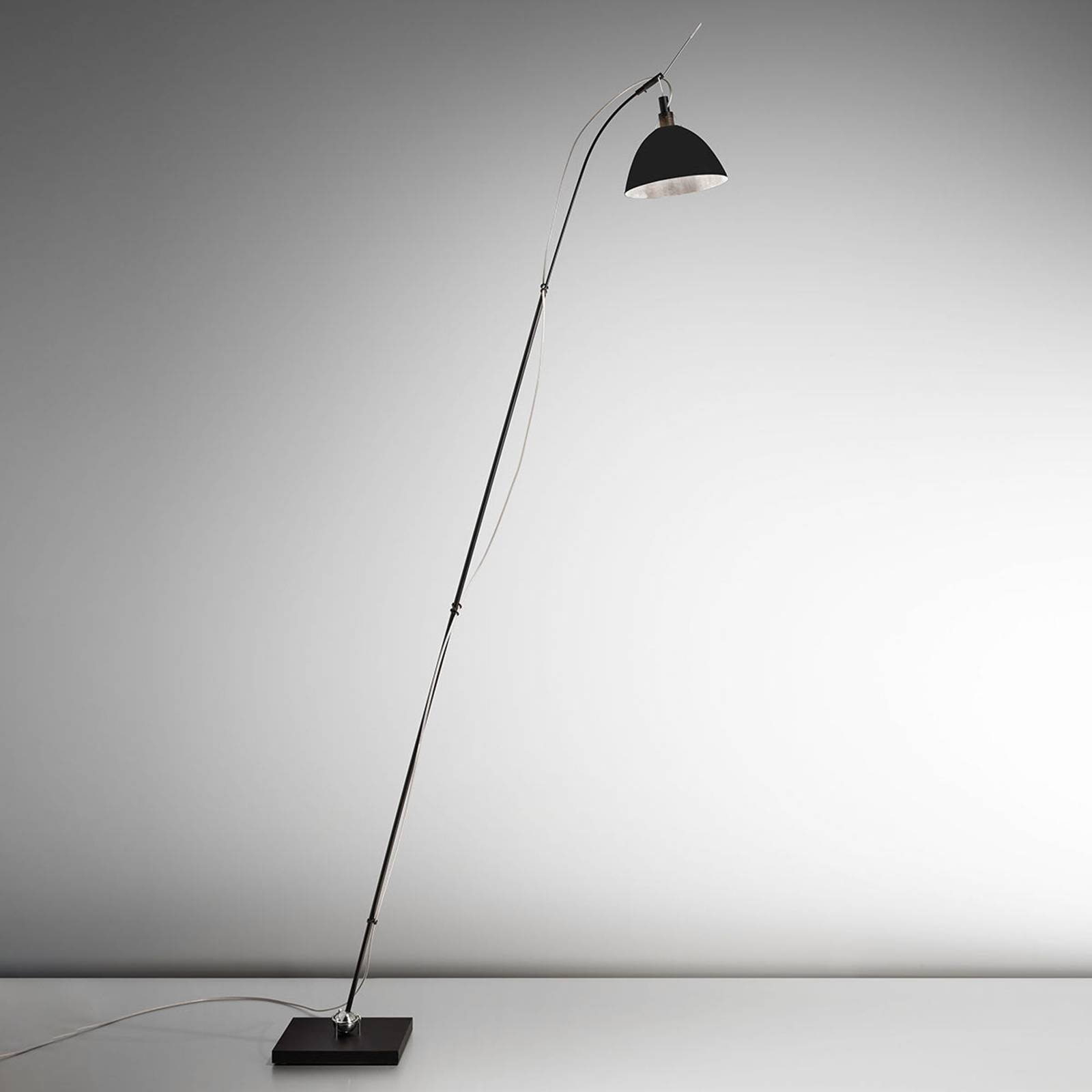 Ingo Maurer Max. Floor gulvlampe, skjerm svart