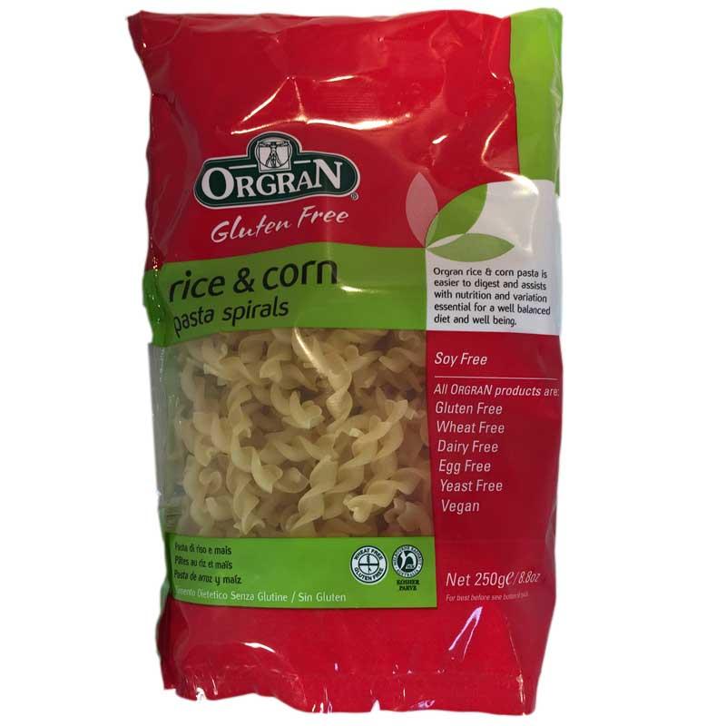 Pasta spiraler glutenfritt - 40% rabatt