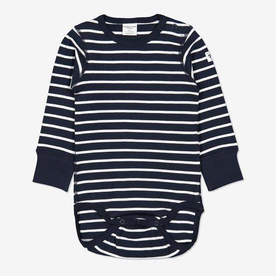 Body stripet baby mørkblå