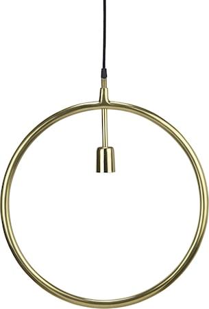 Circle Taklampa Guld 45cm