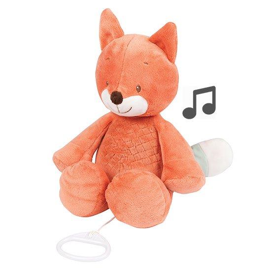 Nattou - Music Cuddling Animal - Fanny & Oscar Fox