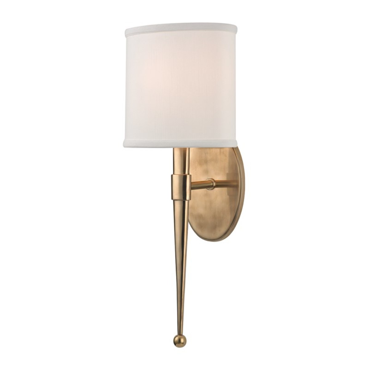 Hudson Valley I Madison Wall Sconce I Aged Brass