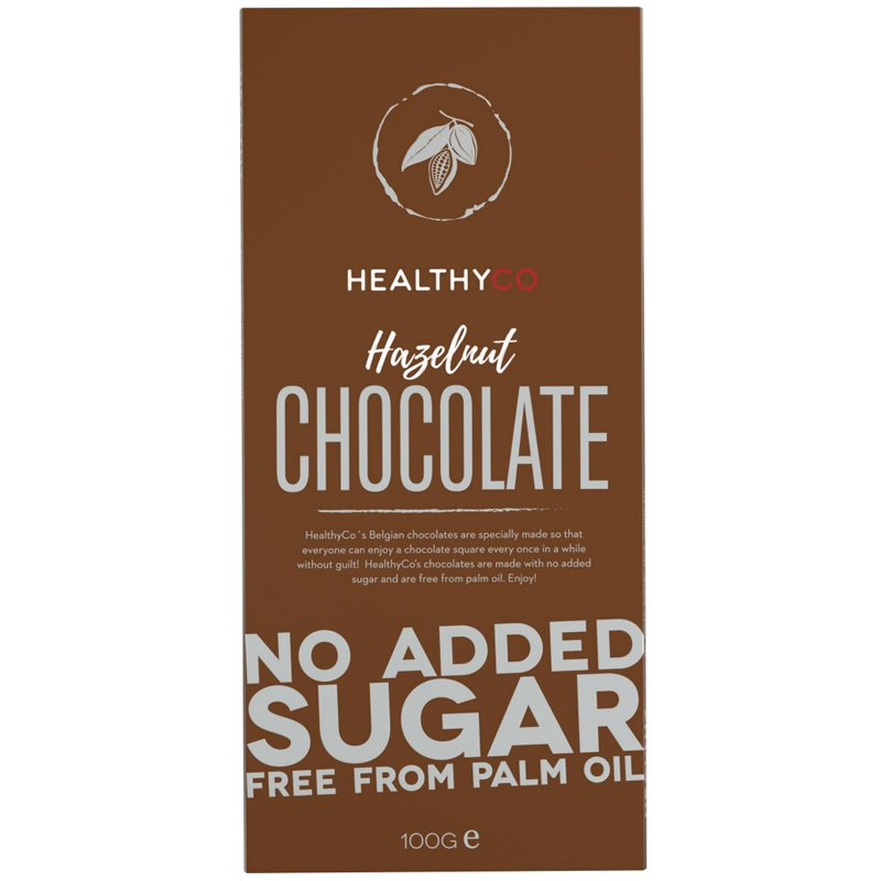 "Choklad ""Hazelnut"" 100g - 60% rabatt"