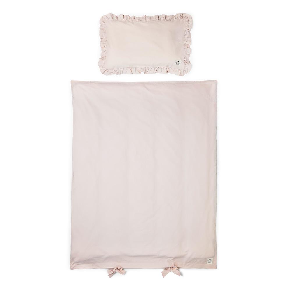 Cot Bedding Set - Powder Pink