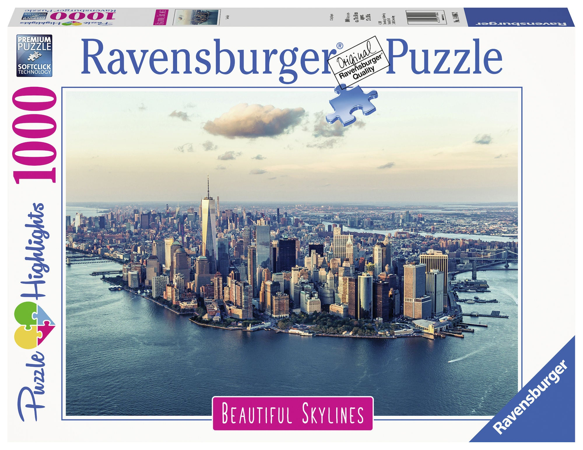Ravensburger Pussel New York 1000 Bitar