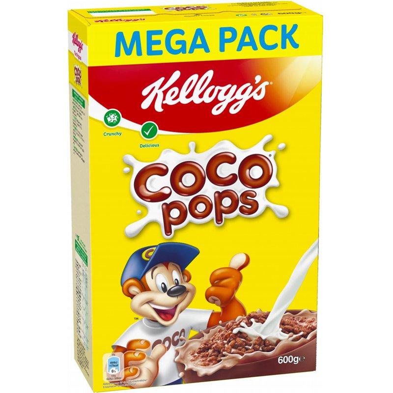 """Aamiaismurot """"Coco Pops Mega Pack"""" 600 g - 50% alennus"""