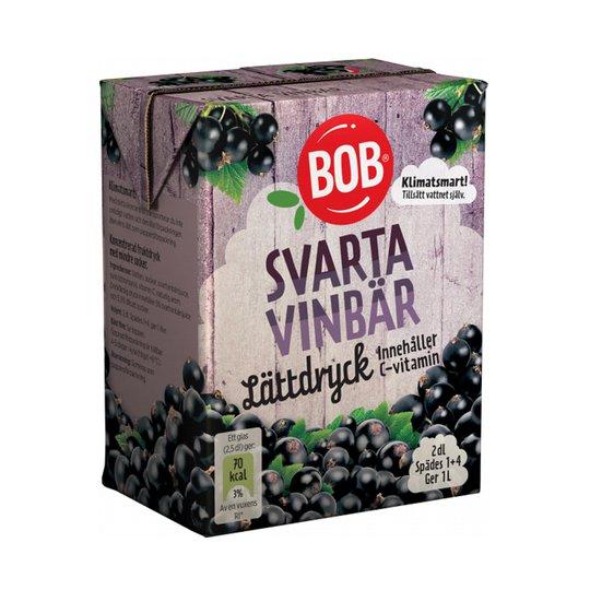 Lättdryck Svarta Vinbär - 15% rabatt