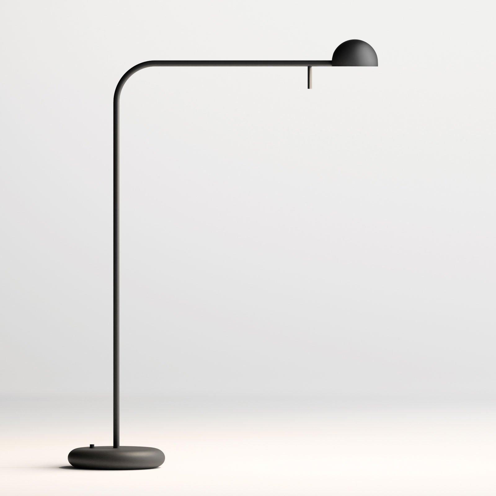 Vibia Pin 1655 LED-bordlampe, lengde 40 cm, svart