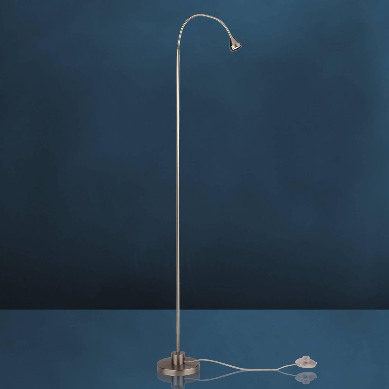 Moderni LED-lattiavalo MINI, lämmin valkoinen
