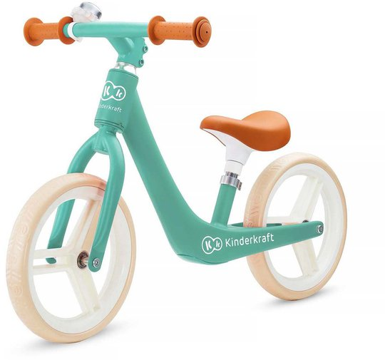 Kinderkraft Fly Plus Løpesykkel, Grønn