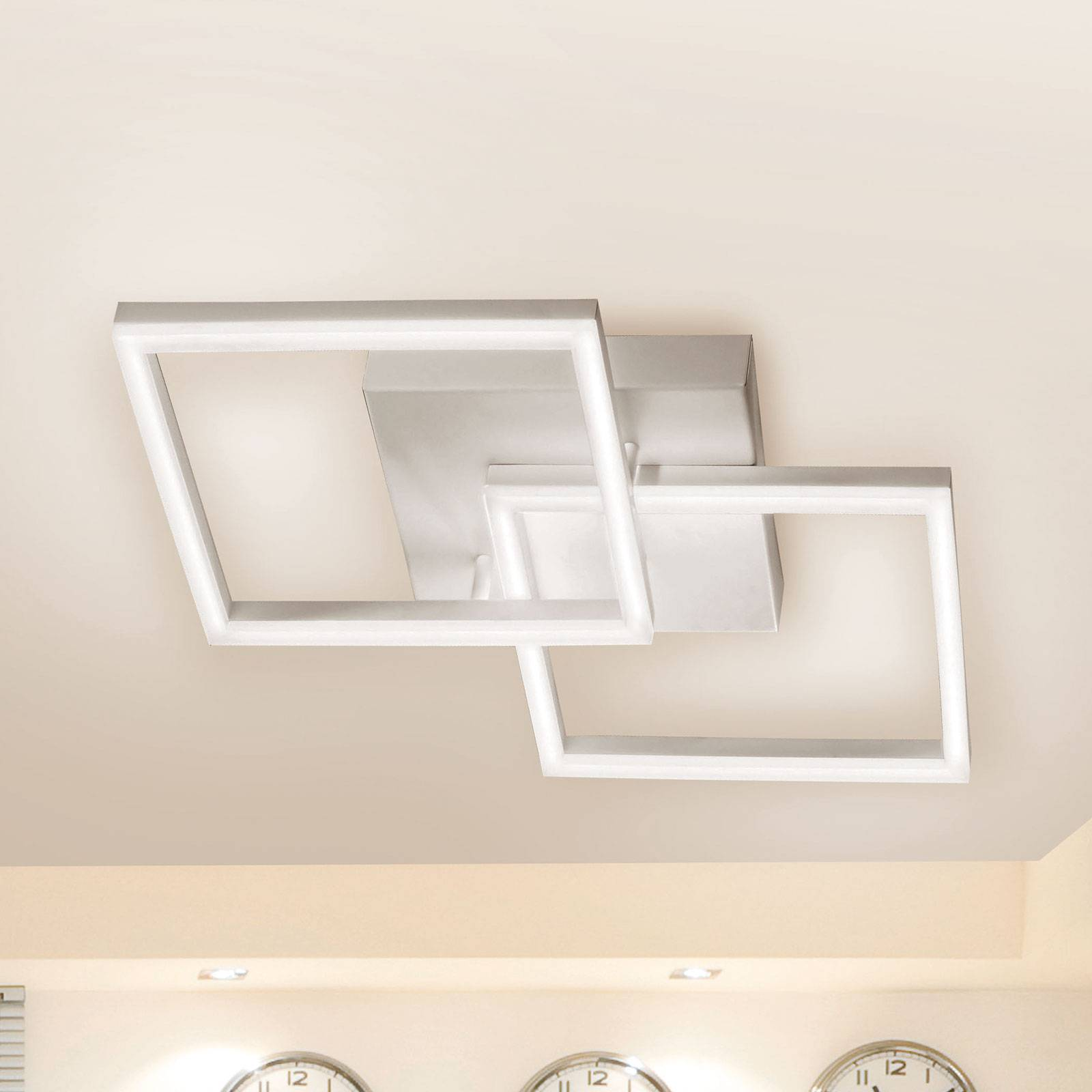LED-kattolamppu Bard 2-lamppuinen
