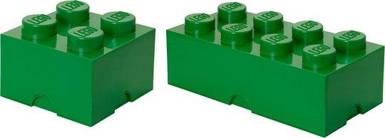 LEGO Oppbevaringspakke Liten/Stor, Grøn
