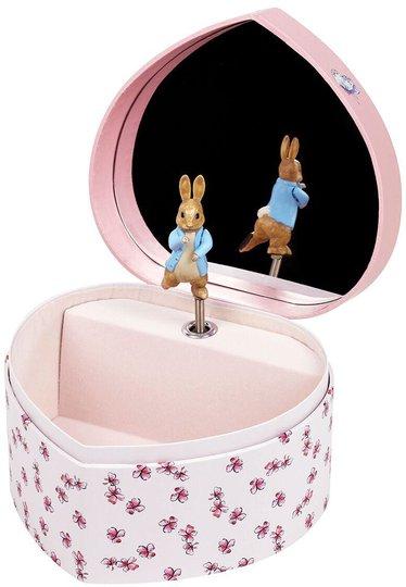 Trousselier Smykkeskrin Hjerte By Peter Rabbit