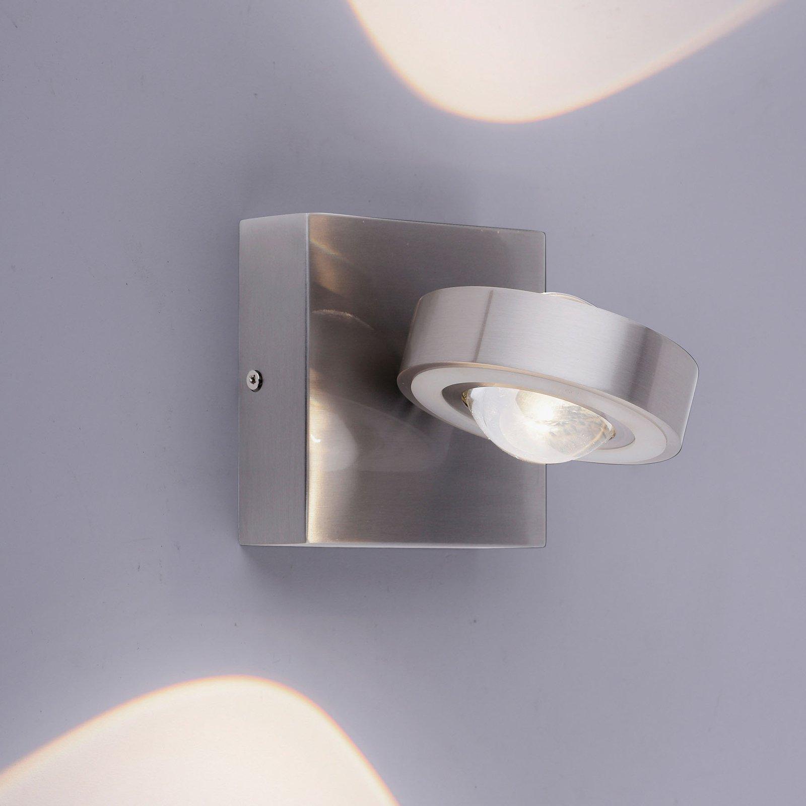 Paul Neuhaus Q-MIA LED-vegglampe, stål