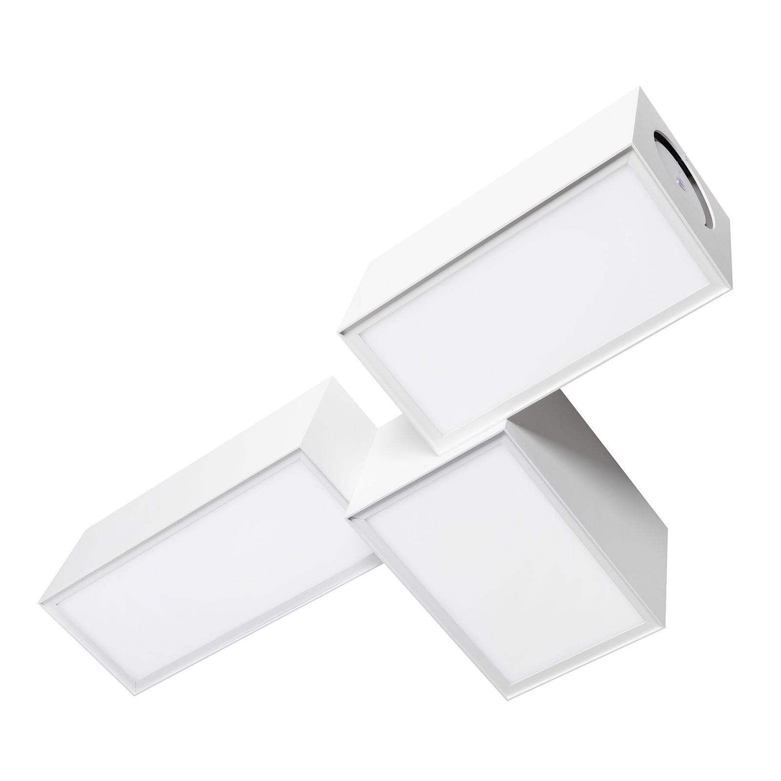 Ozonos Stella -kattovalaisin, AC-1 Plus, valkoinen