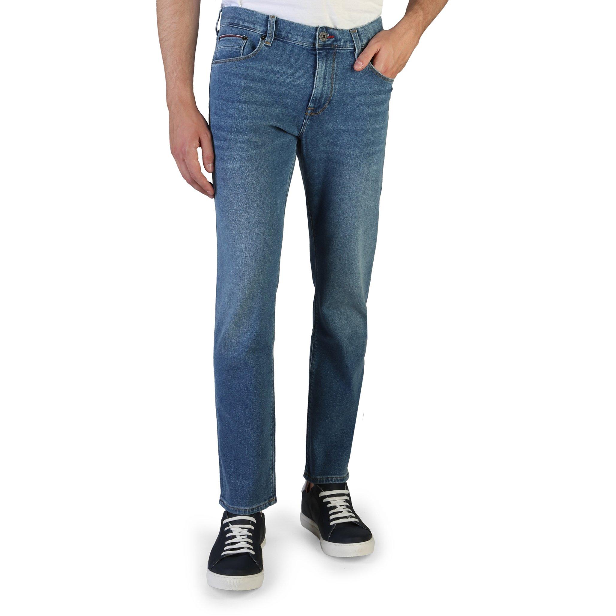 Tommy Hilfiger Men's Jeans Blue MW0MW07082 - blue-1 36