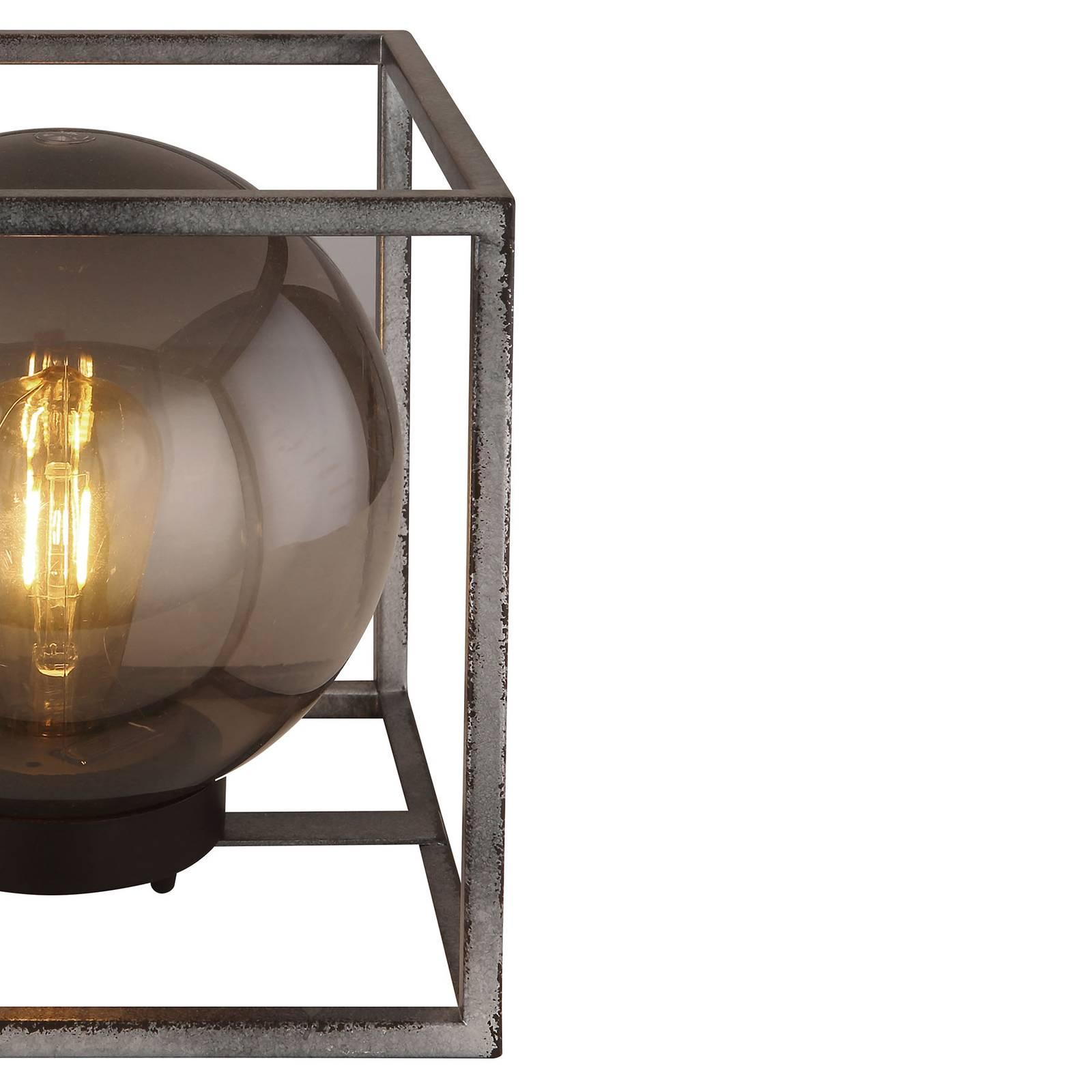 Aurinkokäyttöinen LED-koristevalo, kuutio, 23 cm
