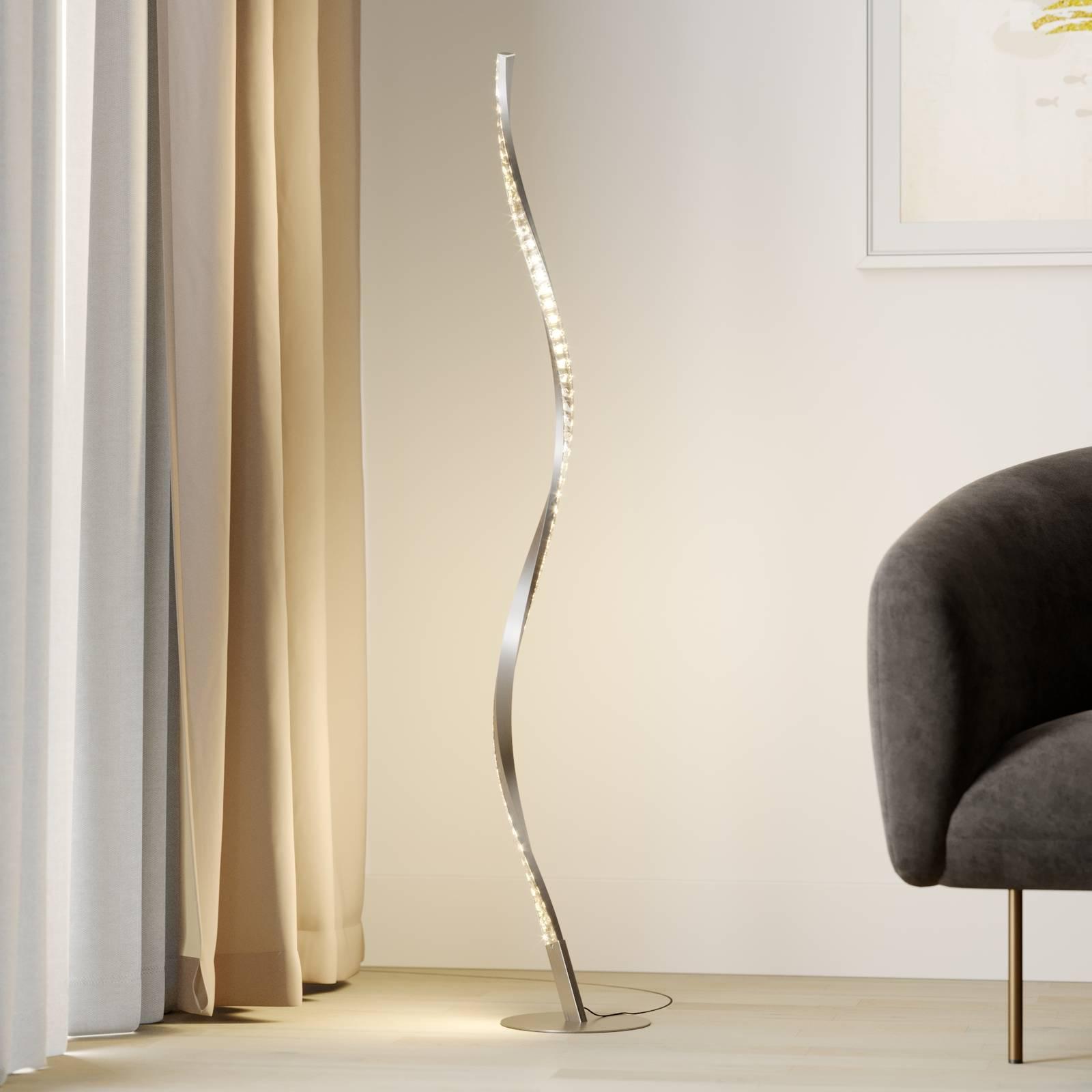Lindby Criostal -LED-lattiavalo värinvaihdolla