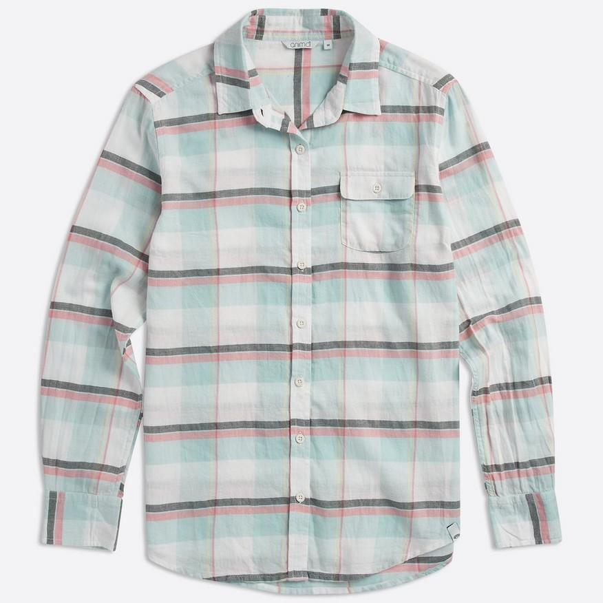 Animal Clothing Women's Thalier Shirt Light Blue 5057652299431 - 8 Light Blue