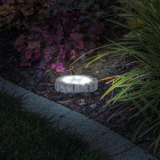LED-deko-solcelle-gulvlampe jordspyd 4125804 4er