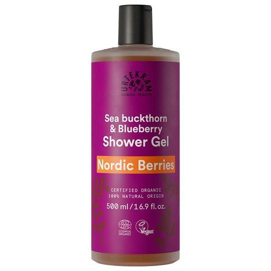 Urtekram Nordic Beauty Nordic Berries Shower Gel, 500 ml