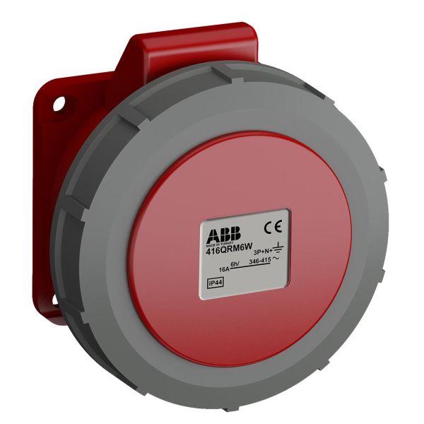 ABB 2CMA102337R1000 Paneluttak hurtigtilkoblet, vibrasjonsbestandig Rett, 5-polet, IP44