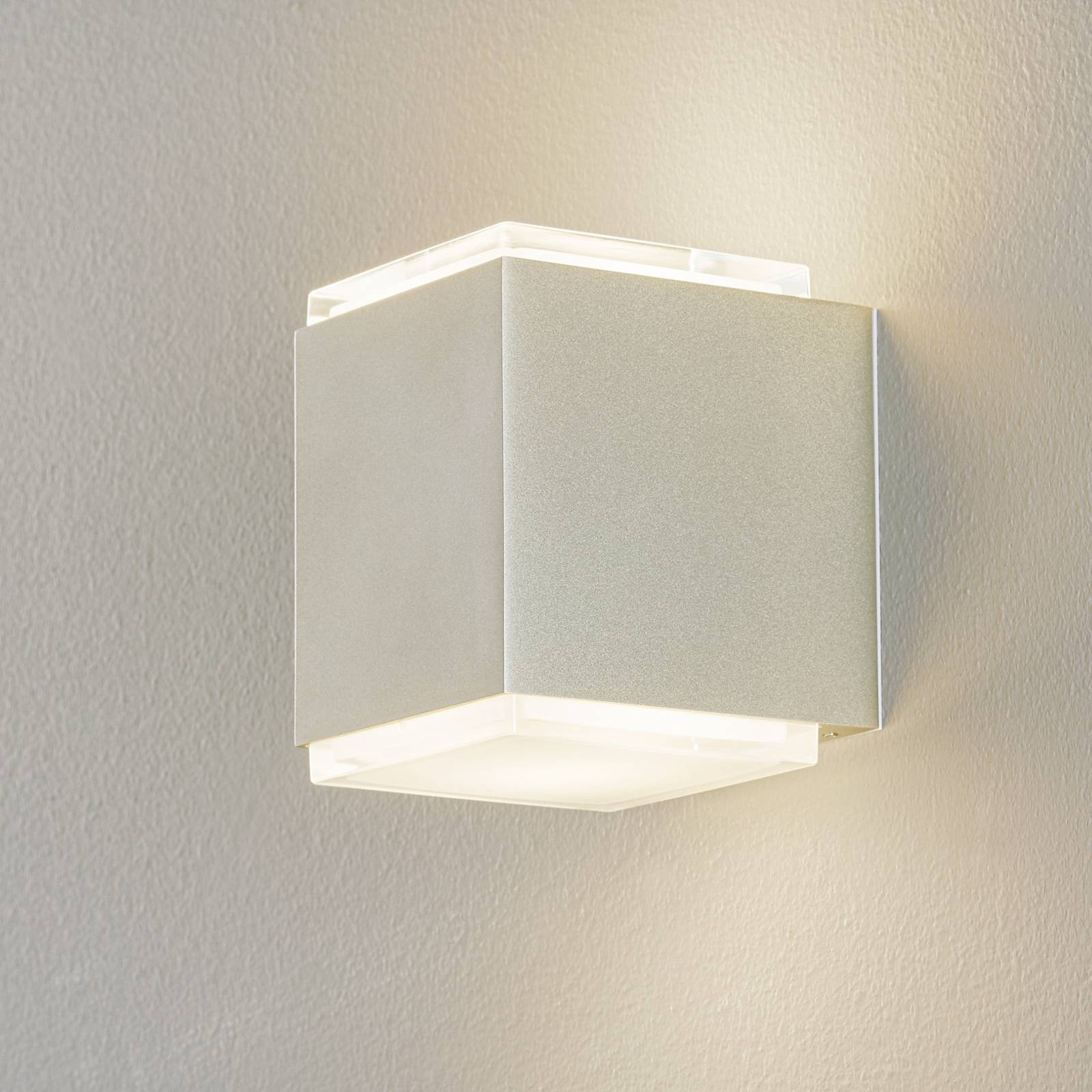 BEGA 50064 LED-vegglampe 3000K 12cm DALI-palladium