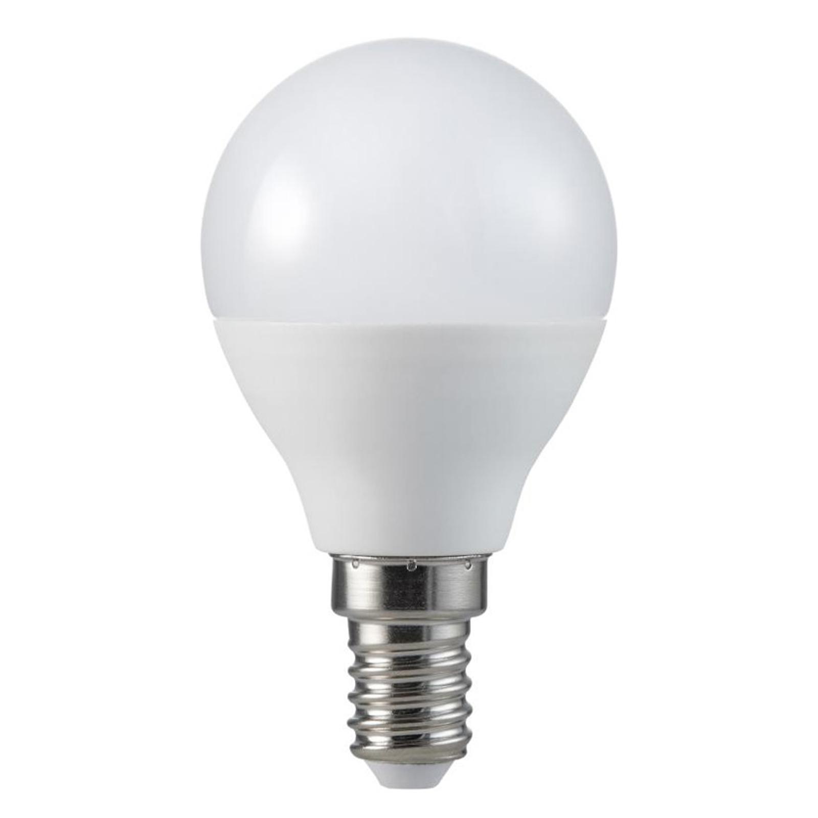 LED-golfpallolamppu E14 5,5W 2 700 K