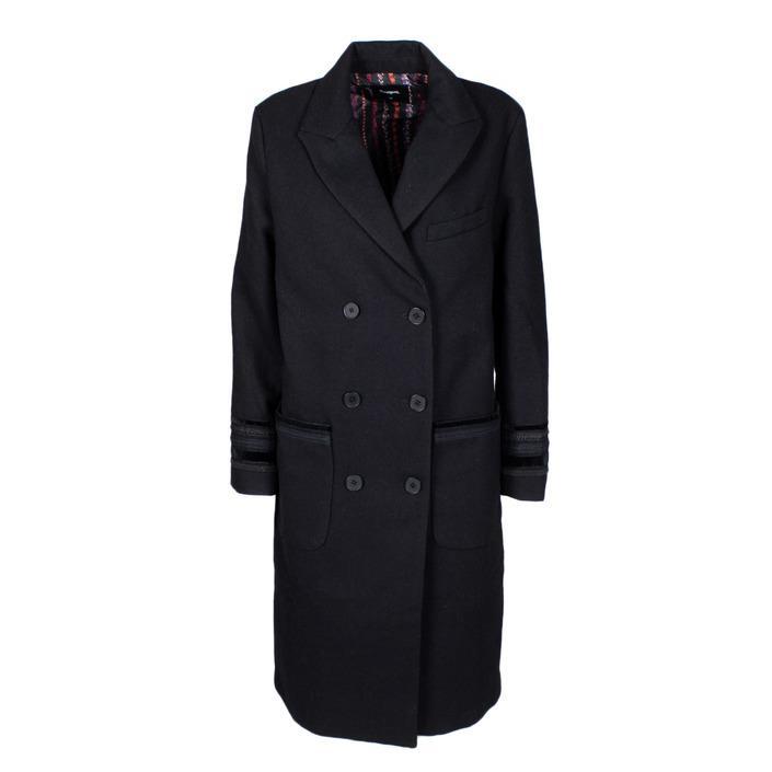 Desigual Women's Coat Black 165600 - black 38