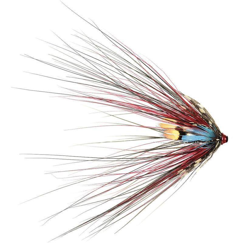 Sea Trout Spey S. Black Doctor Spey 3cm Mikael Frödin Fly Design