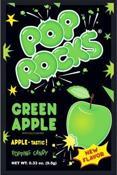 Pop Rocks Green Apple