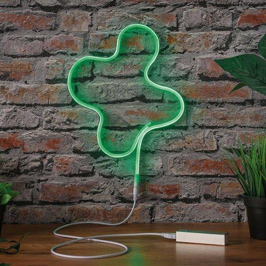 Paulmann LED-Strip Neon Colorflex USB 1m vihreä