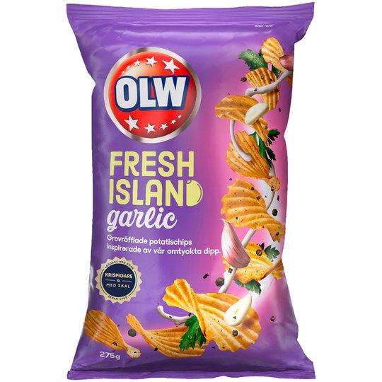 Chips Fresh Island Garlic - 19% rabatt