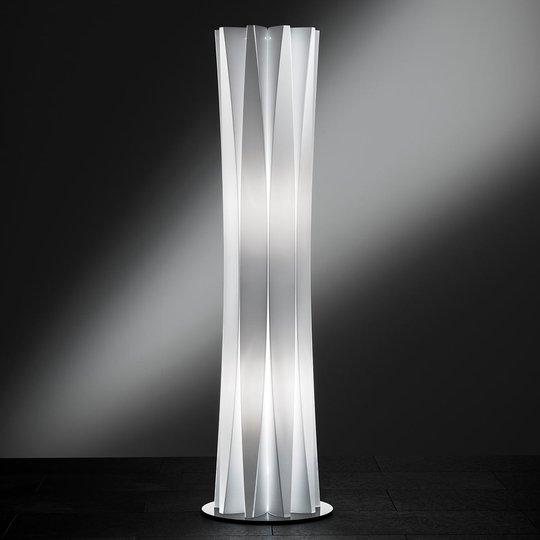 Slamp Bach lattiavalaisin korkeus 116 cm valkoinen