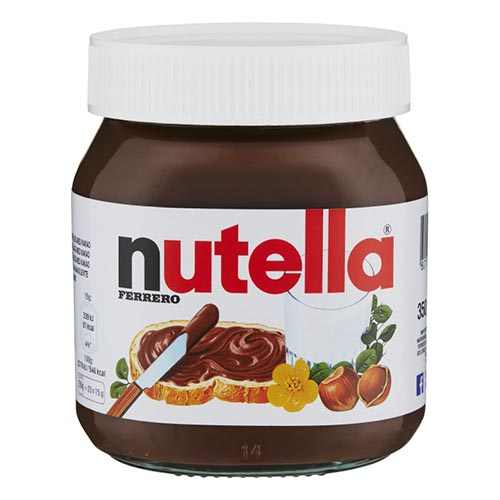 Nutella i Stor Burk - 350 gram