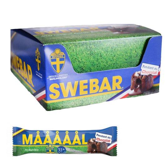 "Hel Låda Proteinbars ""Fondant Au Chocolat"" 20 x 55g - 45% rabatt"