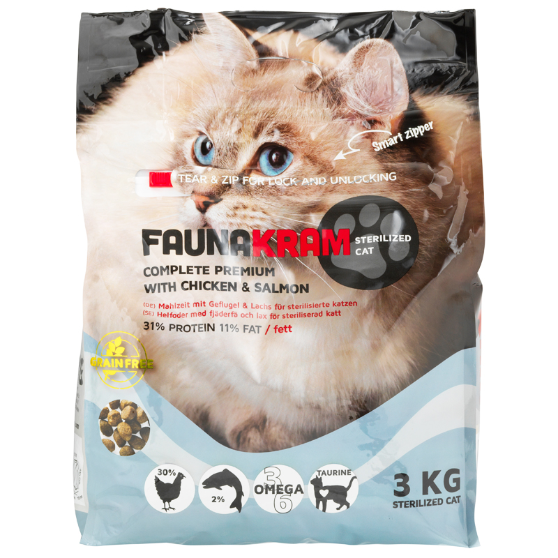 Kissanruoka Kana & Lohi - 47% alennus