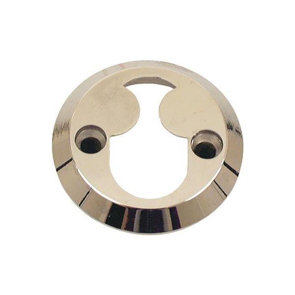 ASSA 463502160002 Sylinderring dobbeltsylinder, forniklet, PP Høyde 21 mm