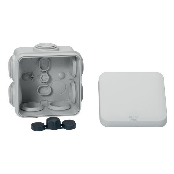 Schneider Electric IMT05023 Koblingsboks hvit, klicklock 105 x 65 x 55 mm