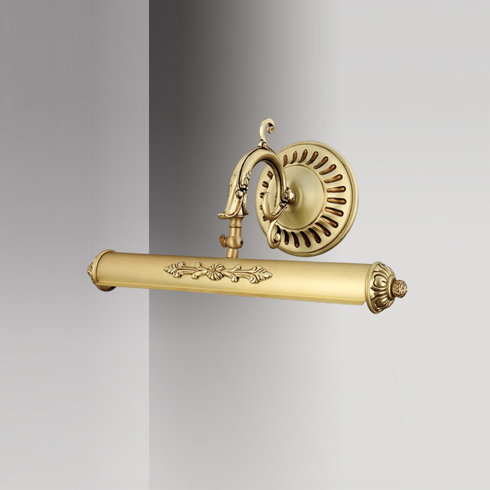 Bildelampe Eligio med flott dekorasjon, 40 cm