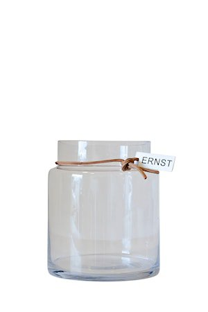 Glassvase, D12,5 H18