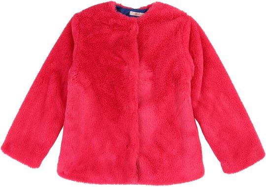 Billieblush Fake Fur Jakke, Cranberries 3 år
