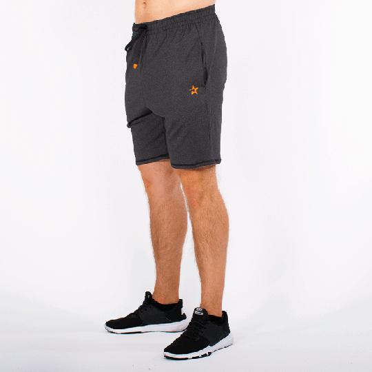 Star Premium Function Shorts, Black Melange, Men