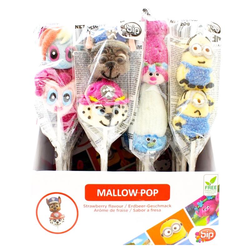Marshmallowpops Jordgubb 16-pack - 65% rabatt