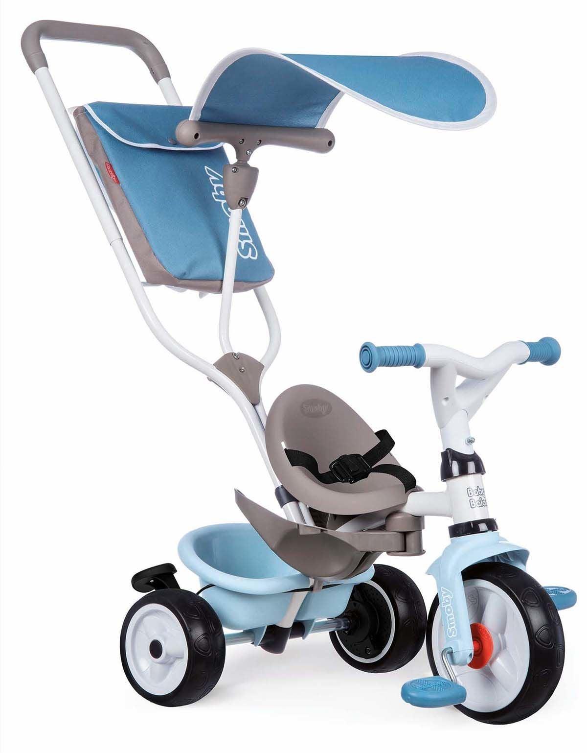 Smoby Trehjulin Baby Balade, Blå