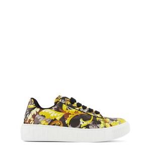 Versace Gold Baroccoflage Sneakers Svarta 34 (UK 2)