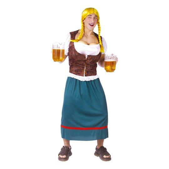 Manlig Beer Tap Bust Oktoberfest Maskeraddräkt - One size
