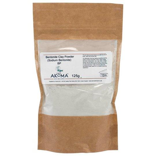 Akoma Bentonite Clay Powder, 125 g